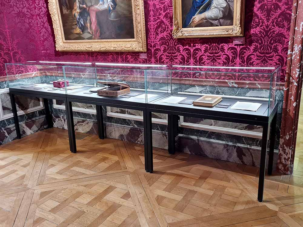 Our showcases at the Museum of the domain départemental de Sceaux