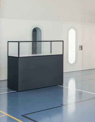 Vitrine table modulaire Mexs
