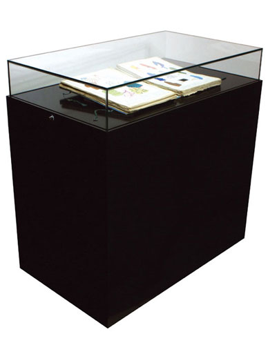 Vitrine table cloche