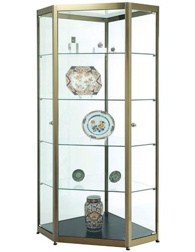 Vitrine hexagonale Promuseum