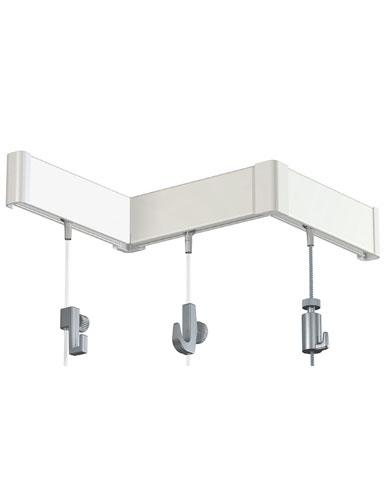 Rail à clipser standard