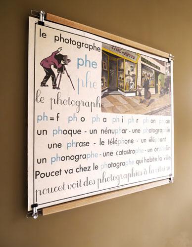 Poster holder