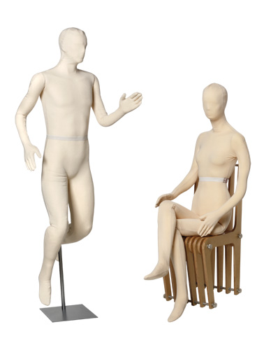 Mannequin flexible de conservation adulte