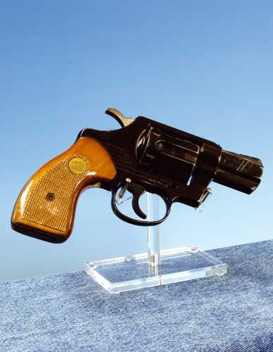 Holder for revolver