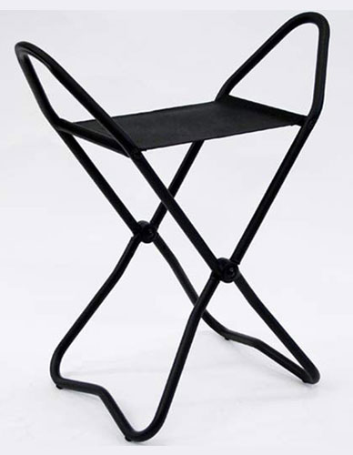 Folding seat for visitor