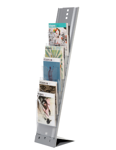Foldable display 7 boxes
