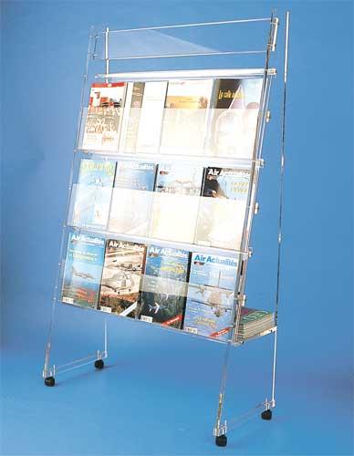 Kiosque transparent
