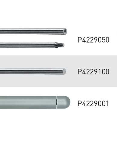 Système de présentation et éléments pour tige Ø 6 mm