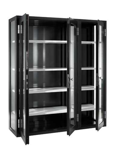 Waterproof curiosity cabinet