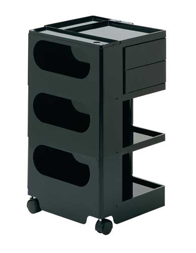 Mobile trolley with drawers
