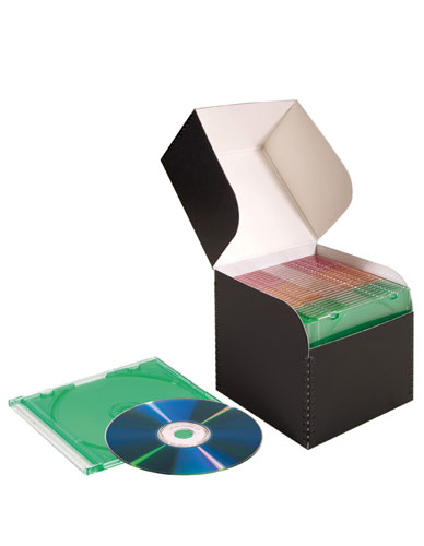 Box with attached cover Pbox-A