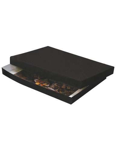 Two-sided compact cardboard box Pbox-A