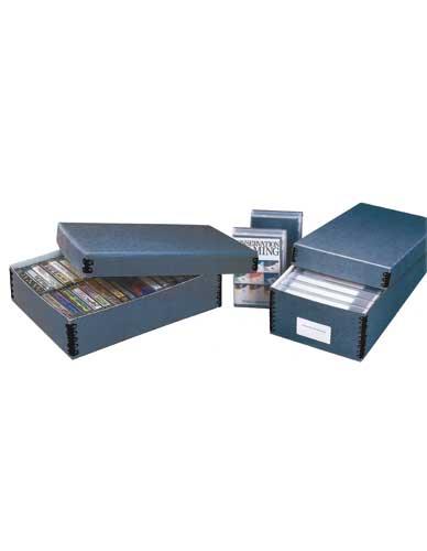 Boîte pour cassettes audio et vidéo Pbox-A