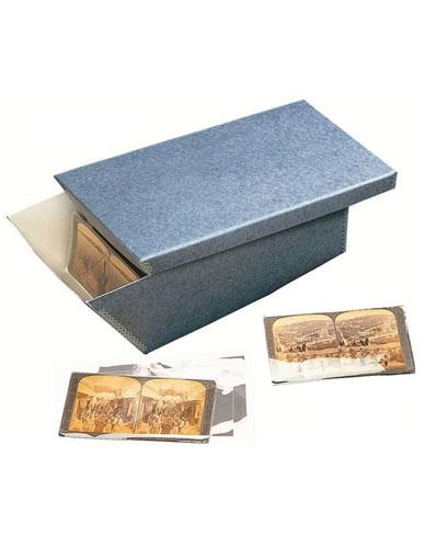 Boîte et pochette pour stéréogramme Pbox-A