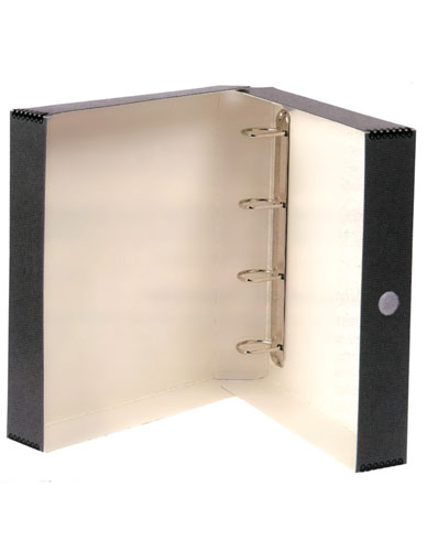 Binder box compact cardboard Pclass-A