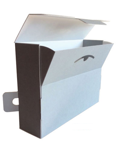 Archives box in corrugated cardboard Pbox-C