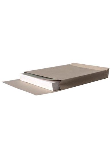 Pochette à soufflet en papier permanent ouverture petit côté