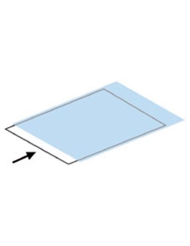 Pochette polyester haute transparence ouverture 1 petit côté