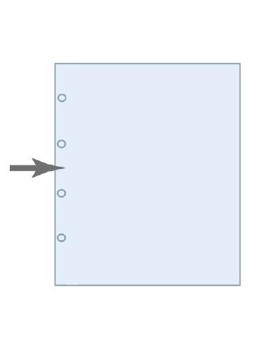 Pochette polyester/polyéhylène HCL