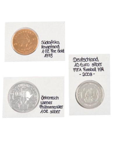 Etuis numismatiques zone descriptif