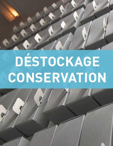 Promotion sur le matériel de conservation