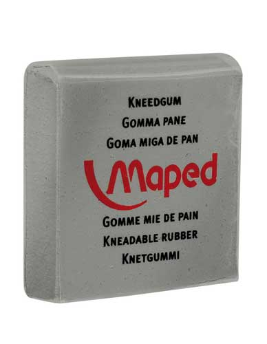 Kneaded rubber