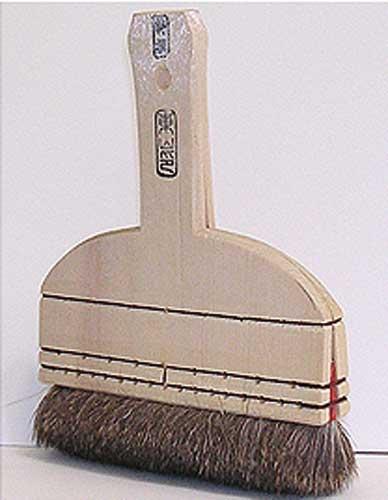 Japanese brush for restoration