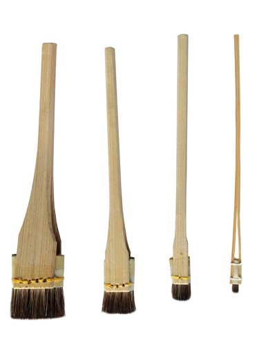 Japanese brush for graphic arts